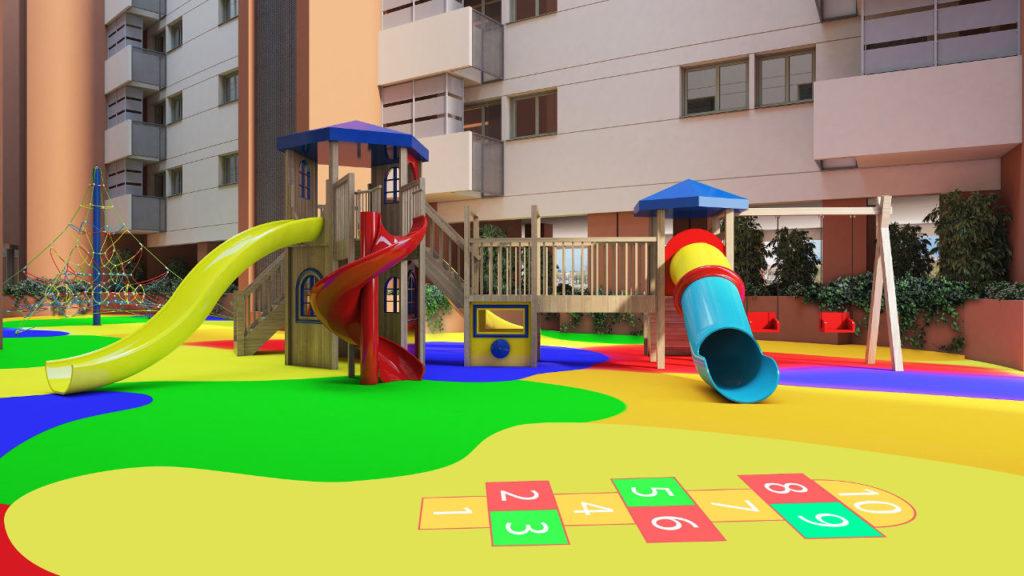Zona infantil Teatinos Sky Garden
